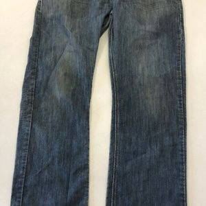Levi's Jeans - Levis 514 Slim Straight Blue Jeans Red Tab Mens